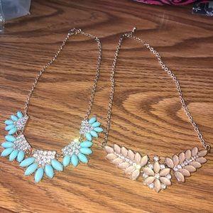 Gorgeous statement necklace bundle